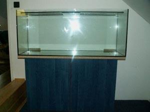 конечный вариант тумбы под аквариум